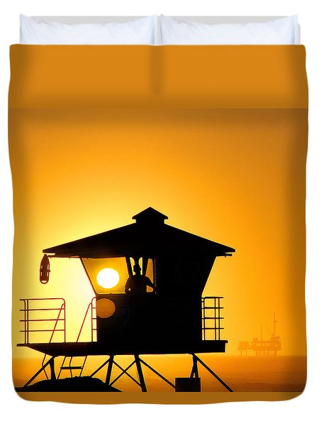 Golden Hour Duvet Cover