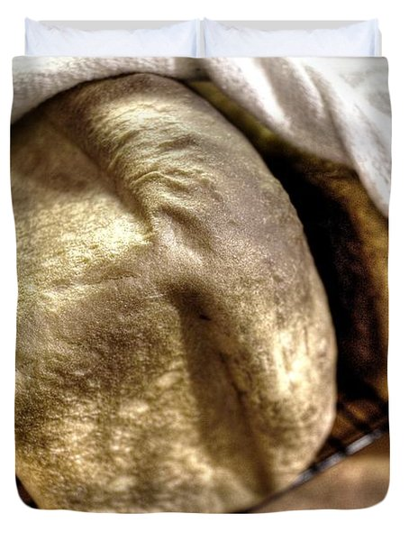 Golden Loaves Duvet Cover