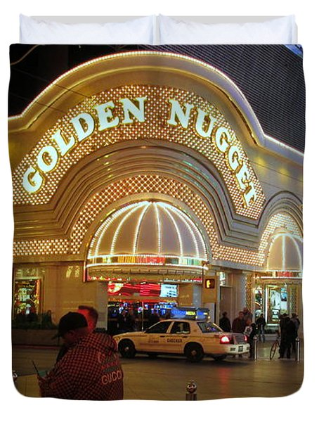 Golden Nugget Duvet Cover