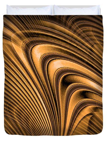 Golden Opportunity Duvet Cover by Kristin Elmquist