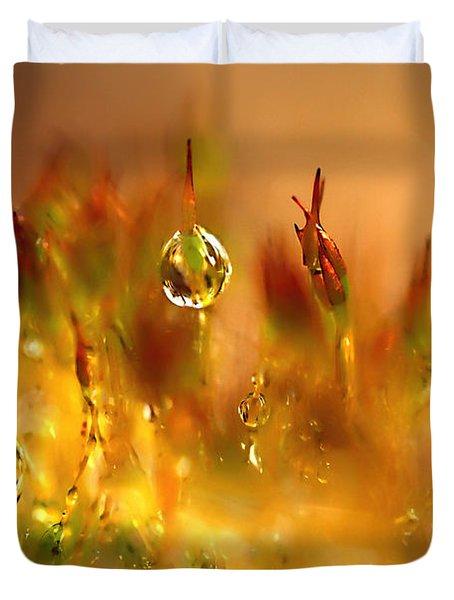 Golden Palette Duvet Cover