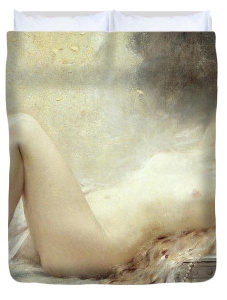 Golden Rain Duvet Cover