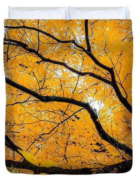 Golden Tree Duvet Cover