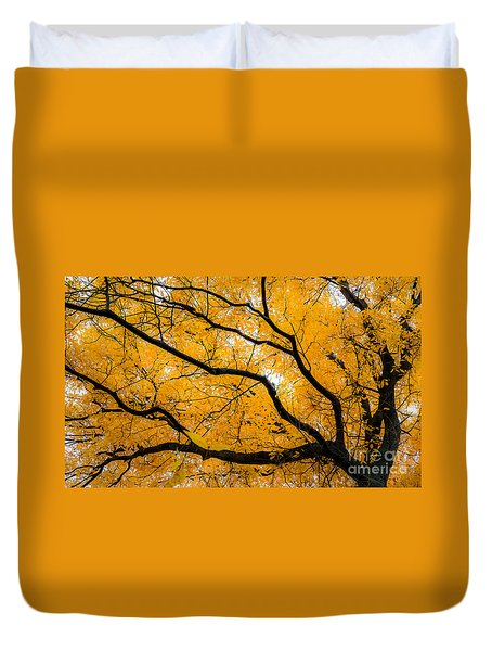 Golden Tree Duvet Cover