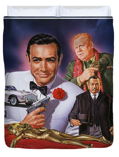 Goldfinger Duvet Cover