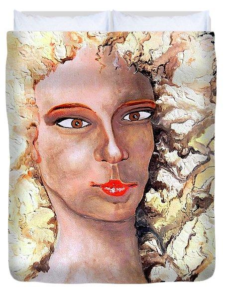 Goldilocks Duvet Cover by Daniel Janda