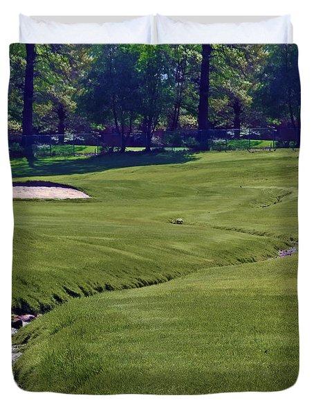Golf Hazards Duvet Cover