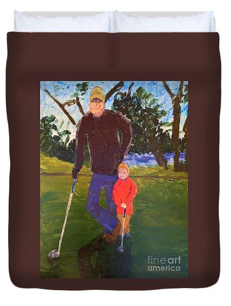 Golfing Duvet Cover