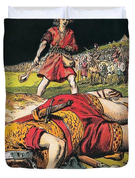 Goliath Duvet Cover by English School