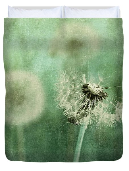 Gone Duvet Cover by Priska Wettstein