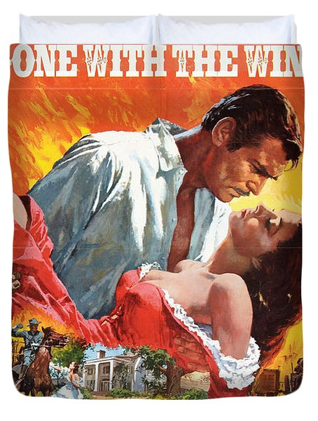 Gone With The Wind - 1939 Duvet Cover