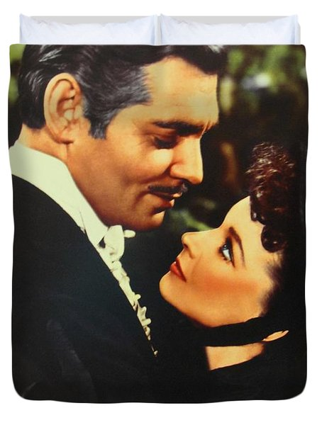 Gone With The Wind Duvet Cover by Natalie Ortiz