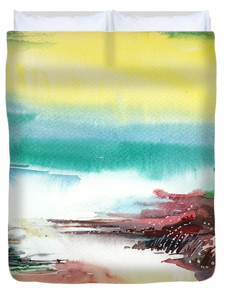 Good Evening Duvet Cover by Anil Nene