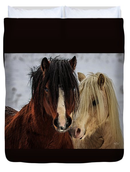 Good Friends Duvet Cover
