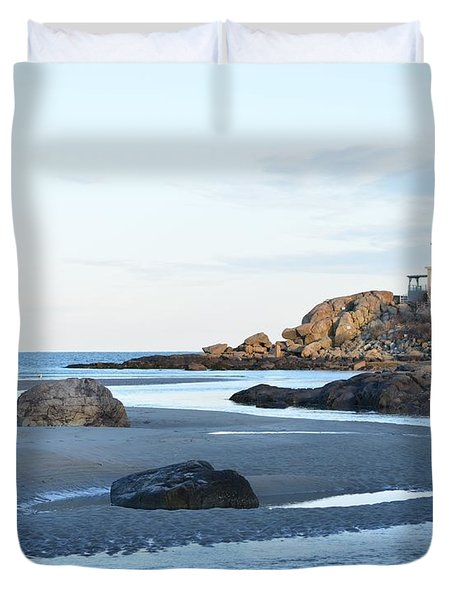 Good Harbor Beach Duvet Cover