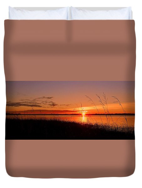 Duvet Cover featuring the photograph Good Morning ... by Juergen Weiss