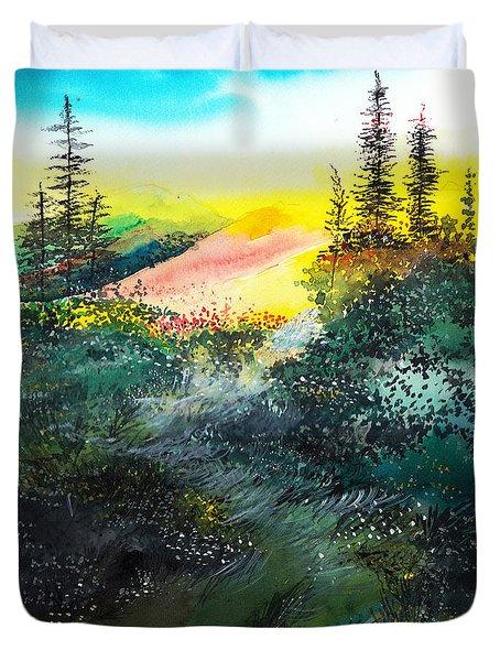 Good Morning 3 Duvet Cover by Anil Nene