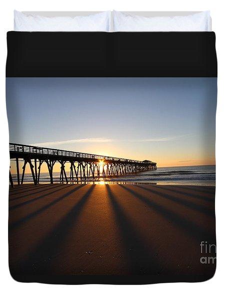 Myrtle Beach Sc Duvet Cover