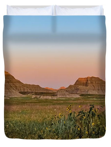 Good Morning Badlands II Duvet Cover by Patti Deters