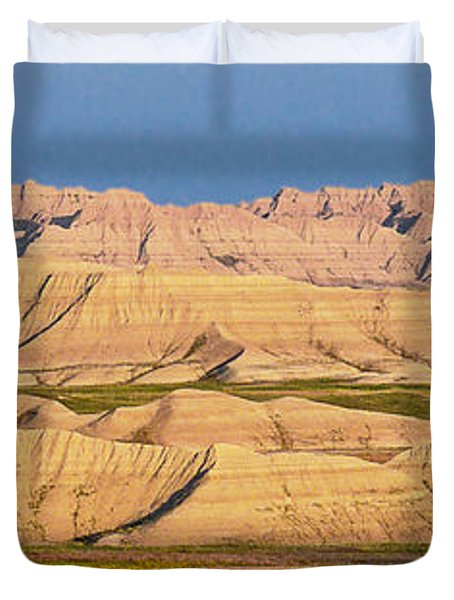 Good Morning Badlands I Duvet Cover by Patti Deters