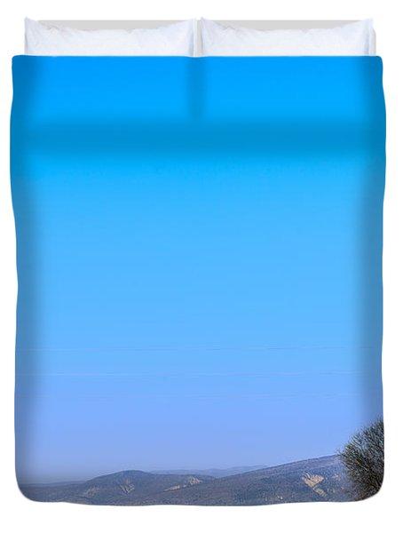 Good Morning  Beautiful World  Duvet Cover by Sotiris Filippou