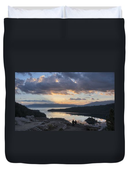 Good Morning Emerald Bay Duvet Cover