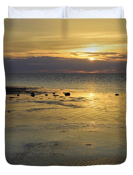 Good Morning Florida Keys V Duvet Cover by Fran Gallogly