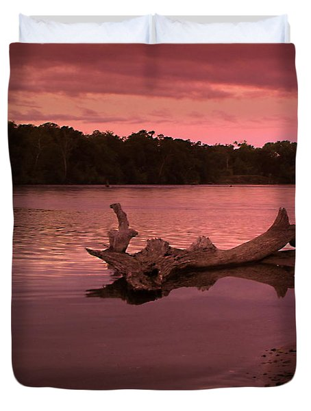 Good Morning Sacramento River Duvet Cover by Joyce Dickens