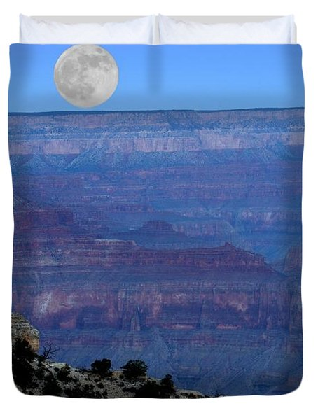 Good Night Moon Duvet Cover by Patrick Witz
