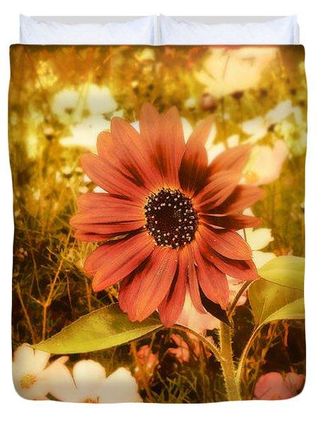 Vintage Cottage Garden Duvet Cover