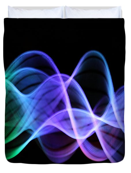 Good Vibrations Duvet Cover by Dazzle Zazz