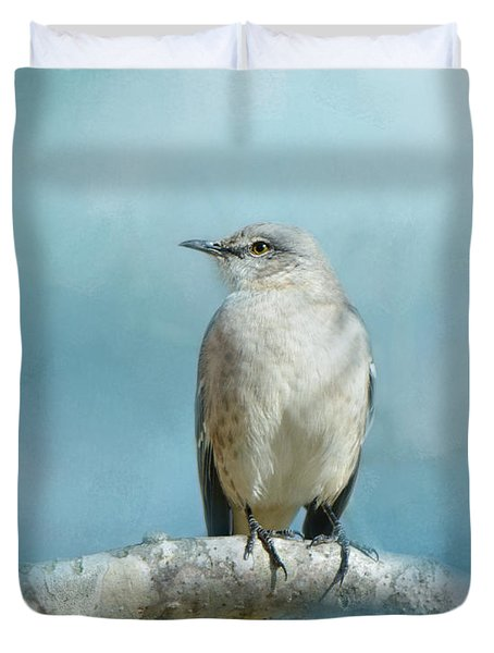 Good Winter Morning Duvet Cover by Jai Johnson