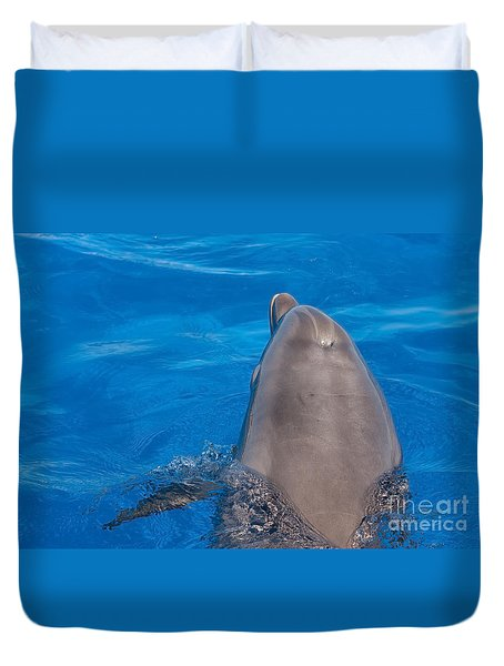 Duvet Cover featuring the photograph Goodbye Nellie by Paul Rebmann
