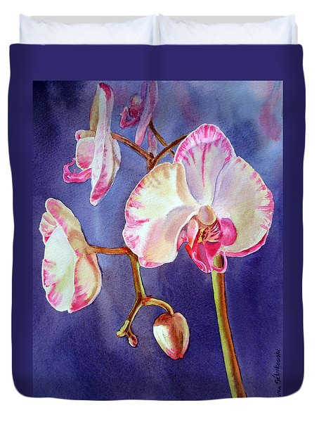 Gorgeous Orchid Duvet Cover