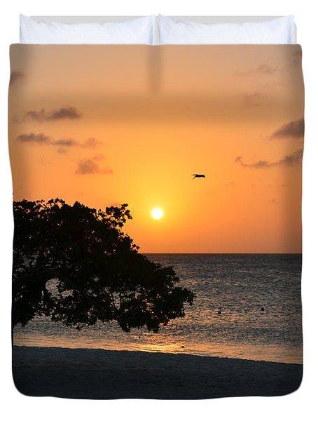 Gorgeous Sunset Duvet Cover by DejaVu Designs