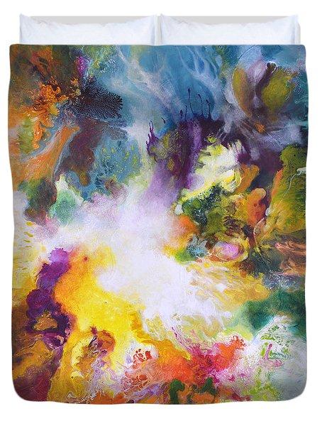 Gossamer Duvet Cover by Sally Trace