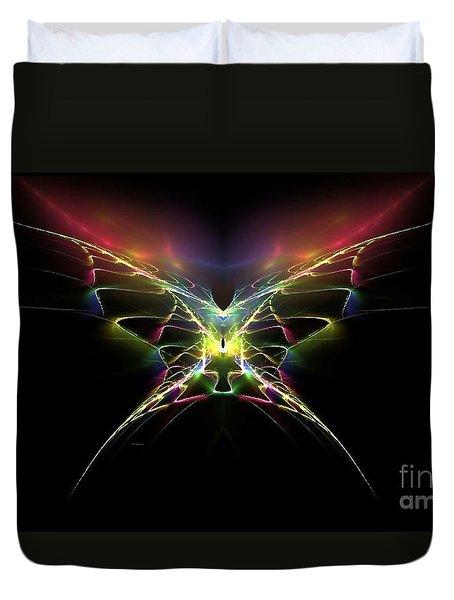 Gossamer Wings Duvet Cover by Greg Moores