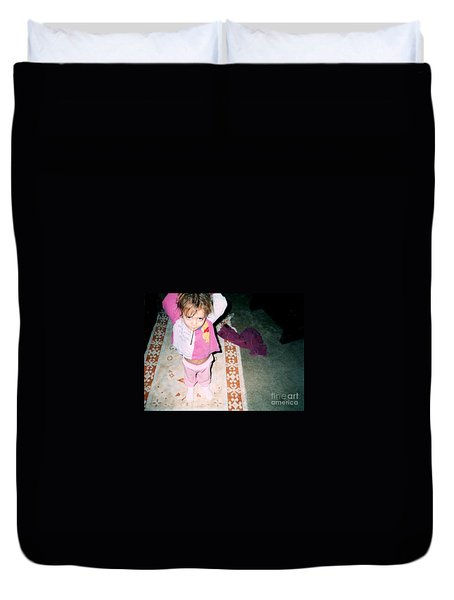Duvet Cover featuring the photograph Got A Light by Kelly Awad
