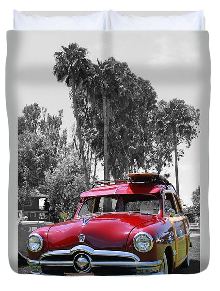 Duvet Cover featuring the photograph Got Wood? by Shoal Hollingsworth
