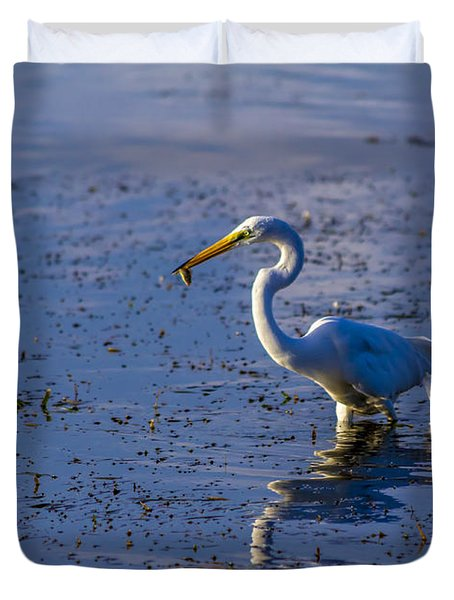 Gotcha Duvet Cover by Marvin Spates