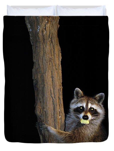 Gotcha The Cornbread Bandit Duvet Cover by Randall Branham