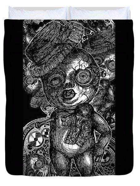 Goth Doll Duvet Cover