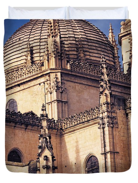 Gothic Cathedral Duvet Cover by Joan Carroll