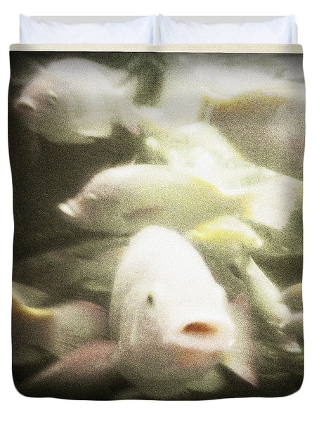 Gouramis Duvet Cover by Bradley R Youngberg