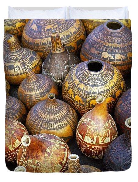 Gourds In Kenya Duvet Cover