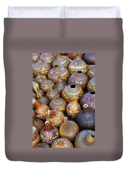 Gourds In Kenya Duvet Cover