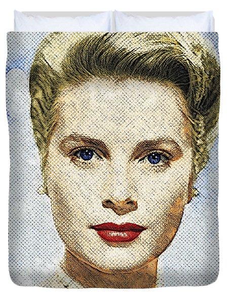 Grace Kelly Duvet Cover by Taylan Apukovska