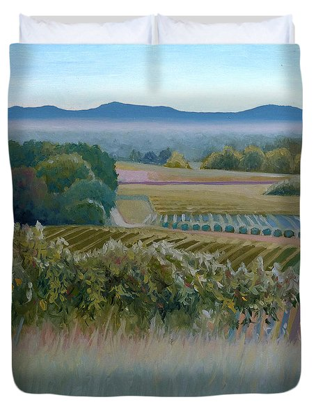 Grace Vineyards No. 1 Duvet Cover