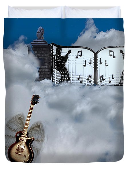 Graceland Duvet Cover by Bill Cannon