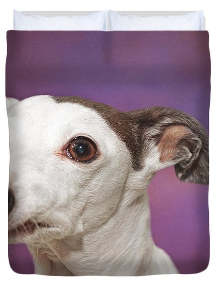 Gracie  Duvet Cover by Brian Cross